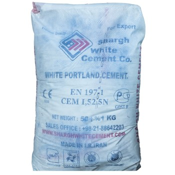 Цемент ЦЕМ I 52,5Н (ПЦБ 1-500 Д0), белый, 50 кг (Иран)