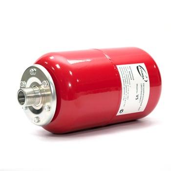 Бак расширительный для отопления Eterna V005 (вертикальный красный)