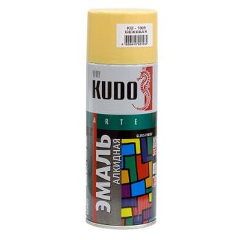 Эмаль аэрозольная бежевая гл. KUDO (1009) 0,52л