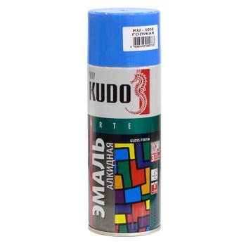 Эмаль аэрозольная голубая KUDO (1010) 0,52л