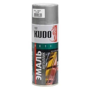 Эмаль аэрозольная хром KUDO (1027) 0,52л
