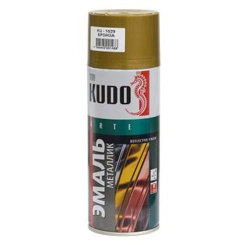 Эмаль аэрозольная бронза KUDO (1029) 0,52л