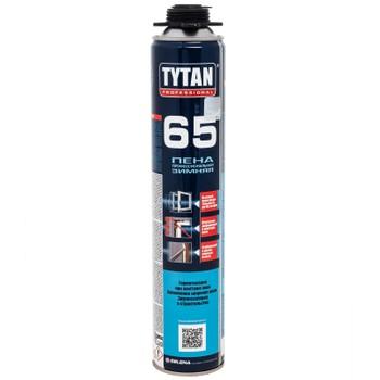 Пена монтажная Tytan 65 О2 профессиональная, зима, 750мл
