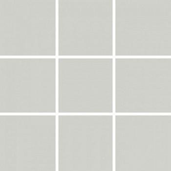 Плитка керамическая Unitile Моноколор 300х300 мм (98х98) серая глянцевая