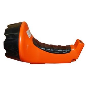 Фонарь аккумуляторный оранжевый (15 светодиодов)