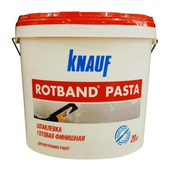 Шпатлевка финишная Ротбанд Паста, 20 кг