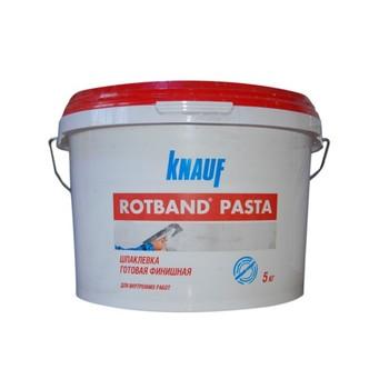 Шпатлевка финишная Ротбанд Паста, 5 кг