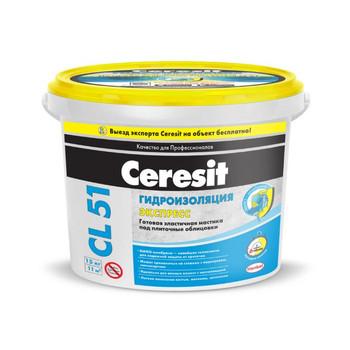 Гидроизоляция Ceresit CL51 полимерная, 15кг