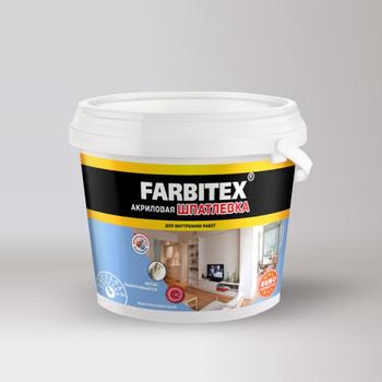 Шпатлевка акриловая для внутренних работ (9,0 кг) FARBITEX