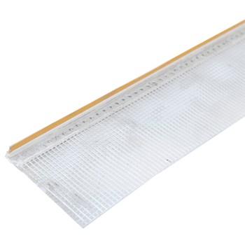 Профиль примыкающий оконный с армирующей сеткой ПВХ 6мм L=2,40м