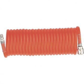 Шланг спиральный воздушный, 10м с быстросъемными соединениями/MATRIX