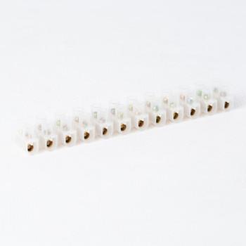 Клеммная колодка 12-пар 1,5-6,0 мм2