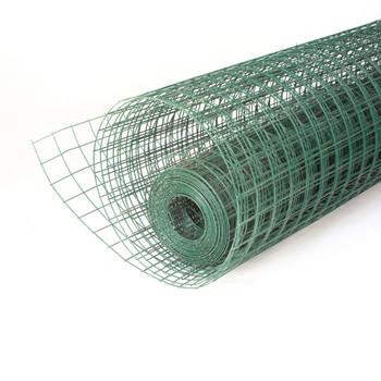 Сетка сварная 50х50мм, (1,5х15м) оцинкованная с ПВХ покрытием