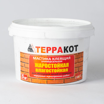 Мастика Терракот (жарост.), 5 кг