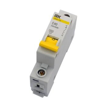 Автоматический выключатель однополюсный 40А IEK