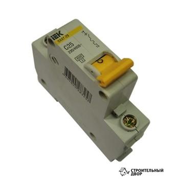 Автоматический выключатель однополюсный 50А IEK
