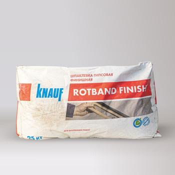 Шпаклевка финишная гипсовая Кнауф Ротбанд-Финиш 25 кг