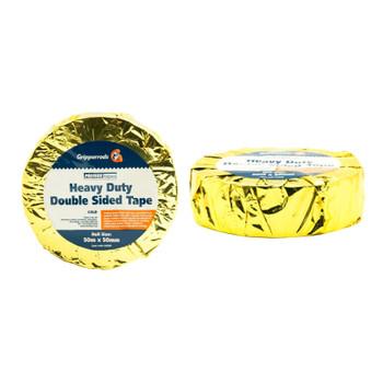 Лента Premier Gold клейкая двухсторонняя 50мм х 50м