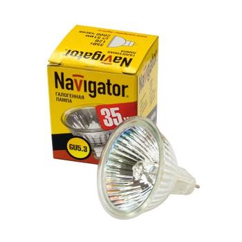 Лампа галогенная 35Вт GU5.3 12V NAVIGATOR