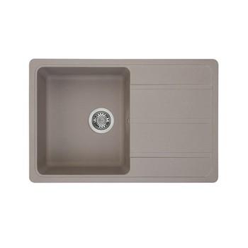 Мойка кухонная Акватон Аманда серый шелк (1A712832AD250)