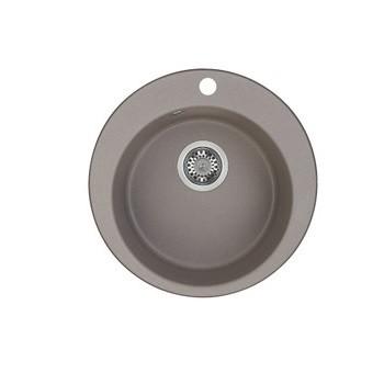 Мойка кухонная Акватон Иверия серый шелк (1A711032IV250)