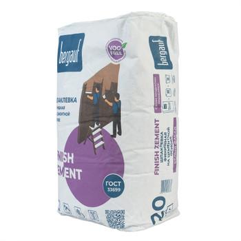 Шпаклевка финишная цементная Bergauf Finish Zement, 20 кг