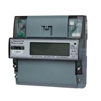 Счетчик Меркурий 236 АRT-03 PQRS 3ф 5-10А 0.5S/1.0 класс точн. многотариф.; оптопорт RS485 ЖКИ DIN-рейка