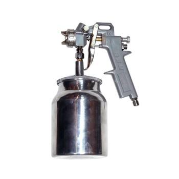 Краскораспылитель пневматический с ниж. бачком V=1,0л+сопла диаметром1.2,1.5 1.8,метал. MATRIX 57316