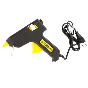 Пистолет STAYER термо-клеящий, электрический, 60Вт/220В, 11мм 2-06801- 60-11