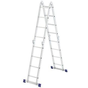 Лестница-трансформер ALUMET 4 секции 4 ступени