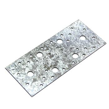 Пластина крепежная оцинкованная 210х90х2 мм ШК