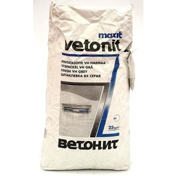 Шпатлевка Ветонит VH (серая), 25 кг