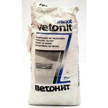 Шпатлевка Ветонит VH (белая), 25 кг