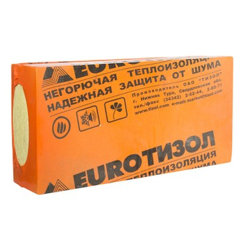 Мин. плита EURO-ФАСАД 140 (1000х500х40мм)х6