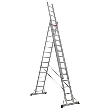 Лестница трехсекционная 3x14 (395/701/954, 20,3кг)