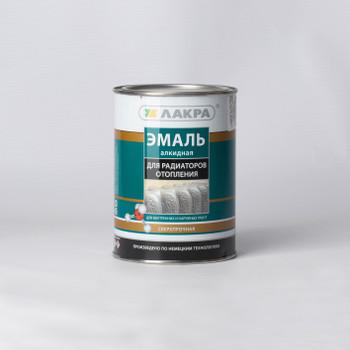 Эмаль алкидная для радиаторов (Лакра Ситез) бел. п/мат. (0,9кг)