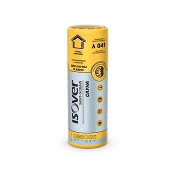 Утеплитель ISOVER Сауна 12500х1200х50 мм 1 штука в упаковке