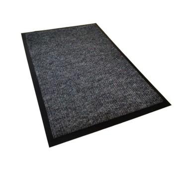Коврик грязезащитный Комфорт, серый, 90х150 см