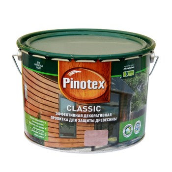 Декоративно-защитное средство д/дерева Pinotex Classic Орех, 10л