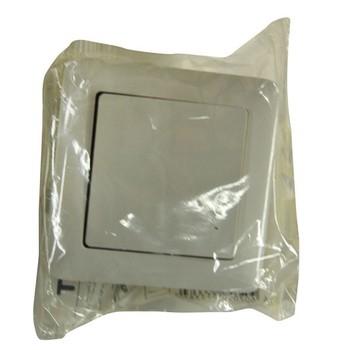 Выключатель 1-кл скрыт. ХИТ белый (6А, 230В) Wessen VS16-133-B