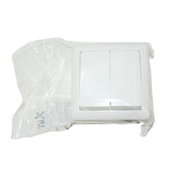 Выключатель 2-кл наруж. ХИТ белый (6А, 250В) Wessen VA56-232-B