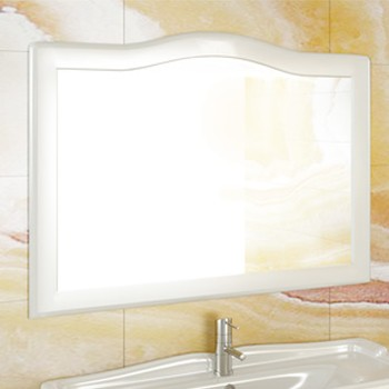Зеркало Comforty Монако 120 белый