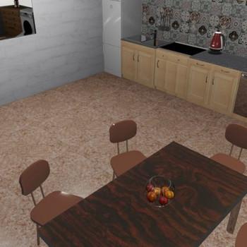 Линолеум бытовой Весна Арабелла 4 3 м, 1 Класс