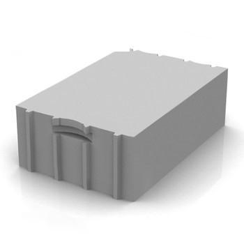 Блок газобетонный Твинблок D500 625х250х400 мм