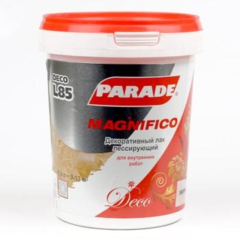 Лак декоративный Parad L85 Magnifico Жемчуг 0,9л