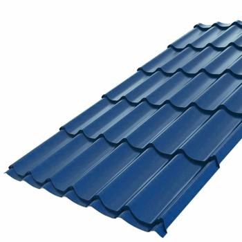 Металлочерепица Монтеррей 3,20х1,18 (ПЭ-01-5005-0,5) синий