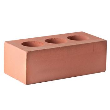 Кирпич облицовочный силикатный пустотелый полуторный М-150/200, красный, Поревит