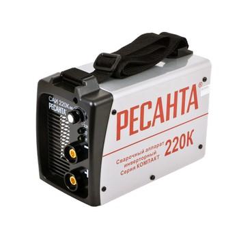 Аппарат сварочный инверторный Ресанта САИ220К (компакт)