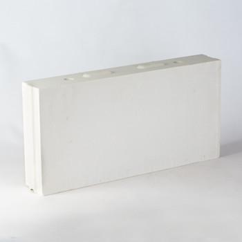 Блок силикатный перегородочный СБП1-80 498x80x250 мм М-150