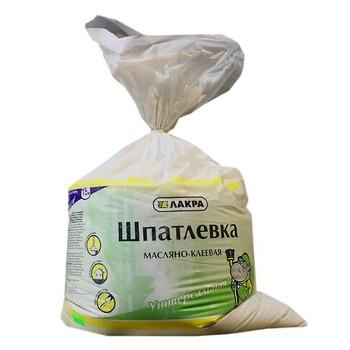 Шпатлевка Лакра масляно-клеевая, 15 кг